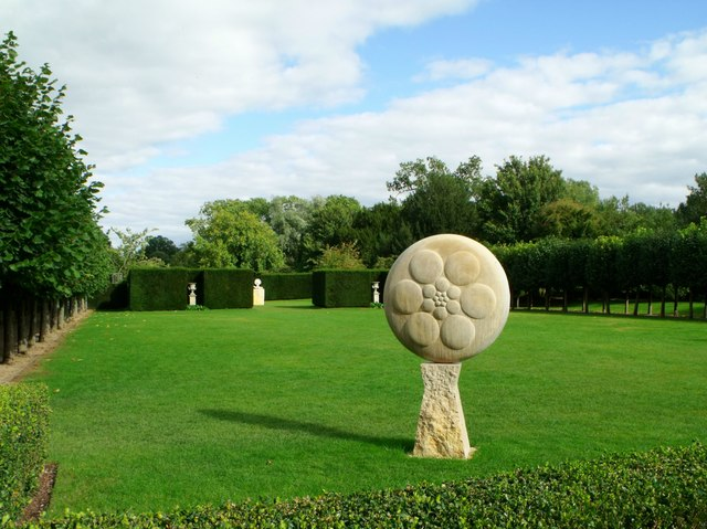Sculpture, Coughton Court