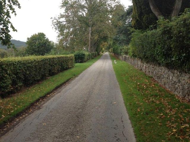 Minor road past Swordale