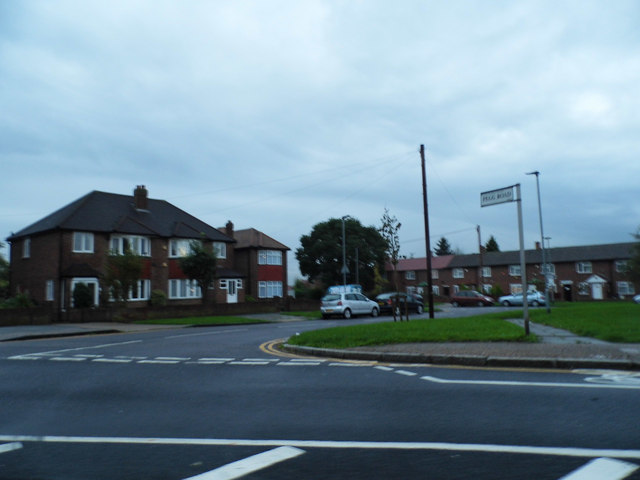 Pegg Road from Cranford Lane