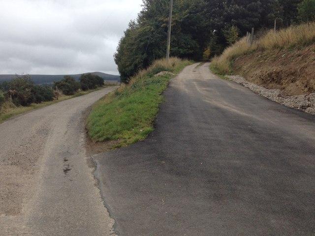 Road junction near Swordale