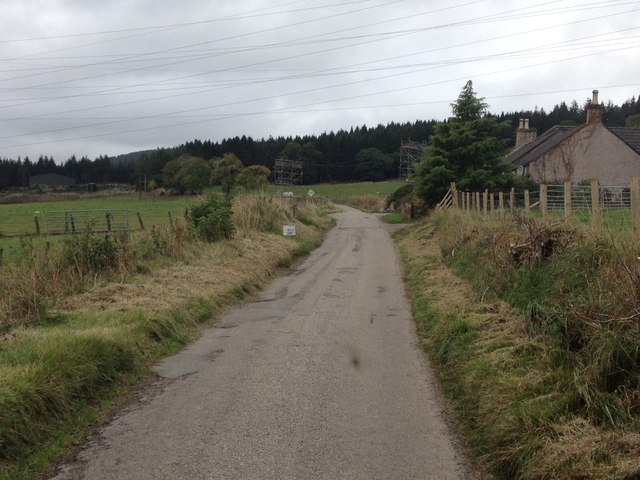 Road in Glen Glass