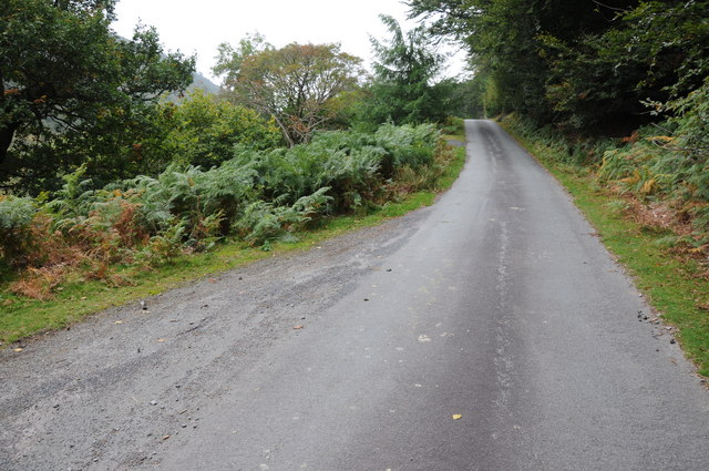 Lake Vyrnwy to Bwlch y Groes road
