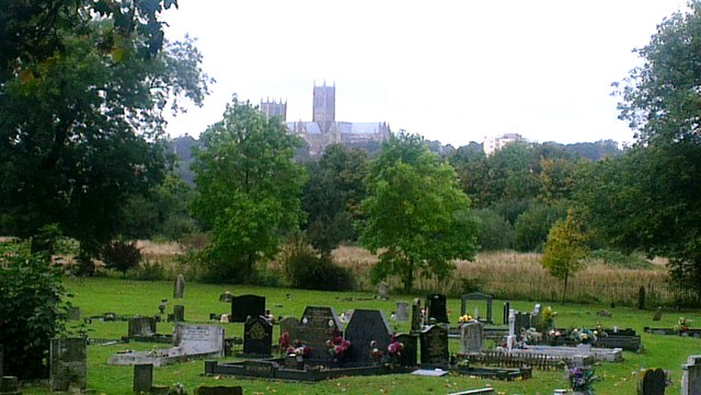 St Swithins cemetery, Lincoln