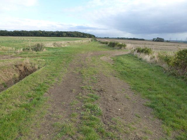 Bullock Road close to Grange Farm