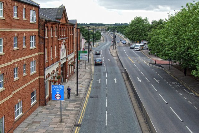 Melville Street (A15), Lincoln