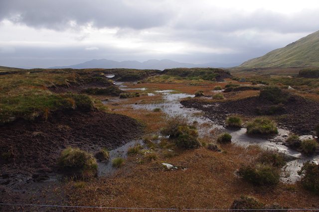 Bog between Cnoc Odhar and Beinn Bhreac