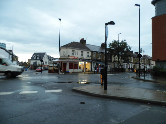 Montague Waye at the junction of Western Road
