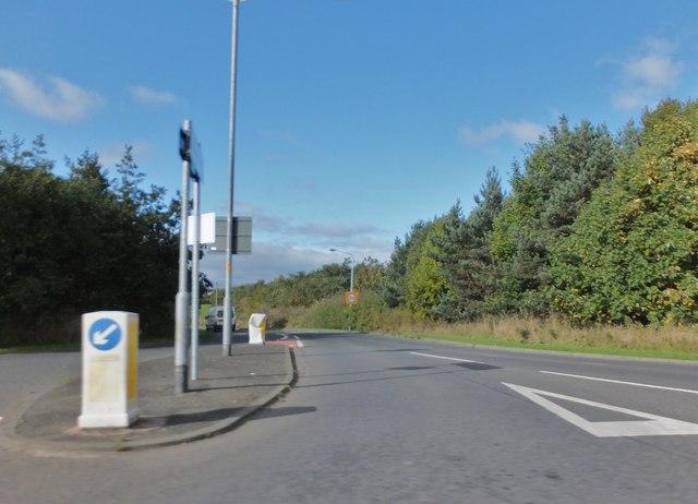 Road into Broomhill