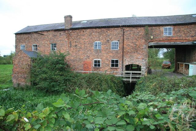 Mickle Trafford Water Mill