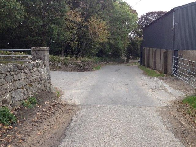 Road junction near Nonikiln
