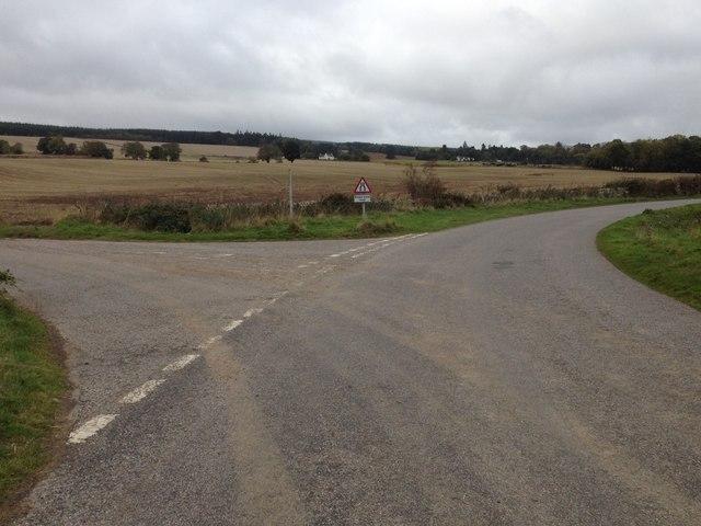 Road junction near Culcairn