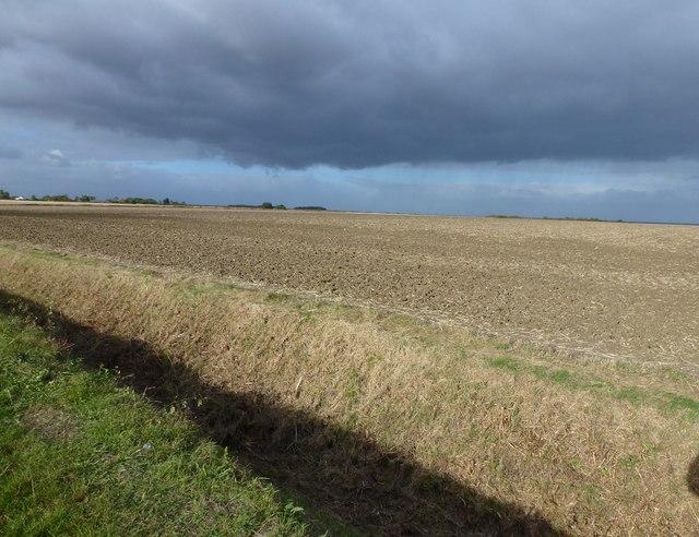 Storm clouds near Sawtry
