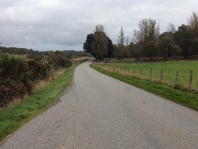Minor road at Northfield