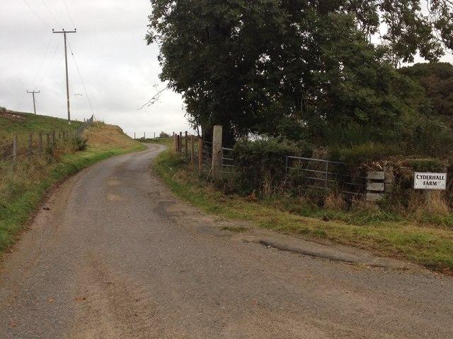 Road to Cyderhall Farm