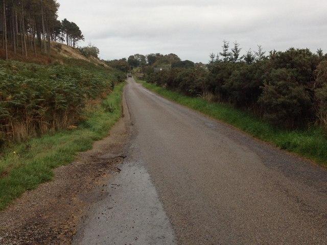 Minor road past Eaglefield