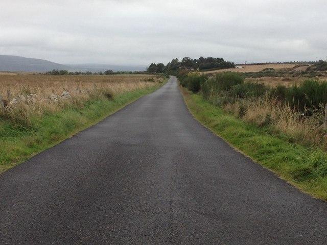 Minor road near Dornoch