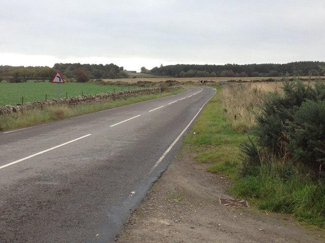 Road near Embo Mains