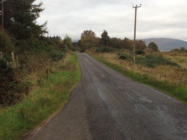 Minor road near Embo