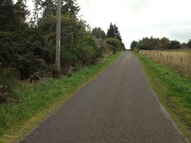 Minor road near Trentham