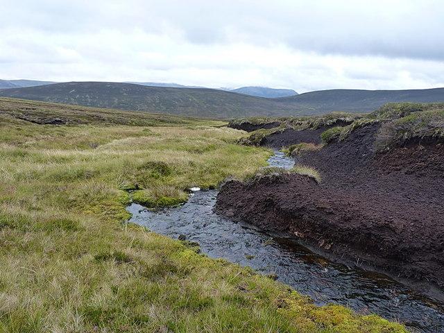 The Fèith Mhòr Bhàin - downstream