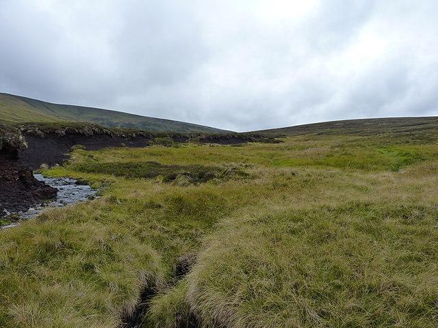 The Fèith Mhòr Bhàin - upstream