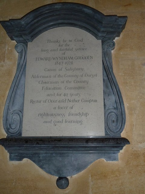 St. Michael, Over Compton: memorial (XIV)