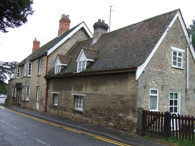 Cottage and Post Office, Edenham