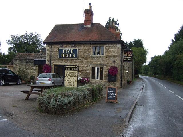The Five Bells pub, Edenham