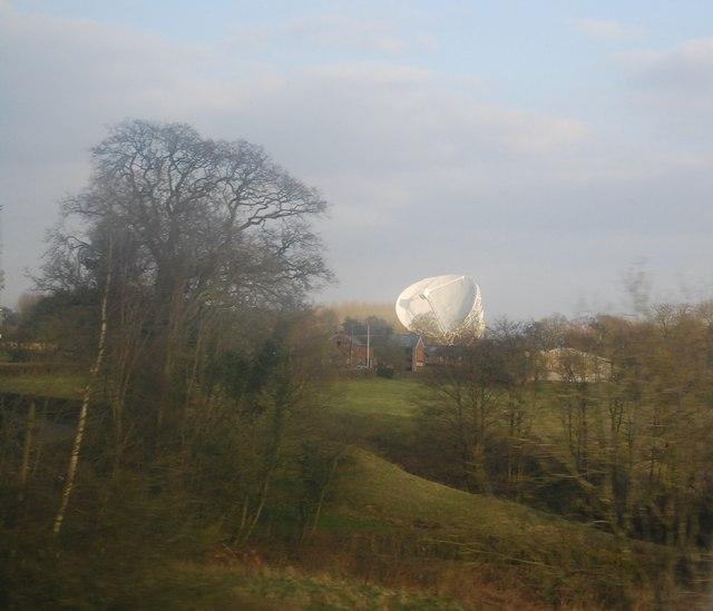 Radio Telescope, Jodrell Bank