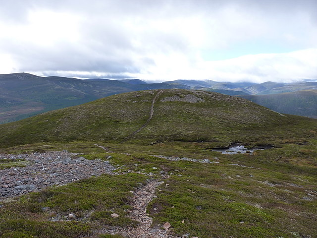 Carn Dearg from above