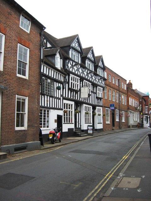 The Bailiff's House (1), 68 & 69 High Street, Bewdley, Worcs