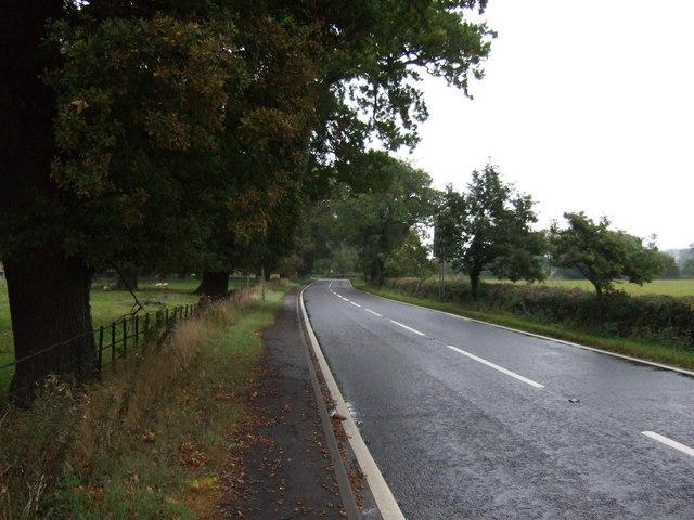 A151 towards Corby Glen