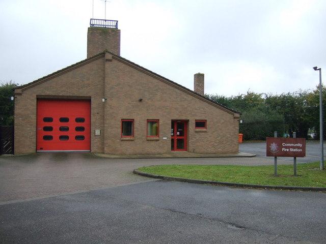 Corby Glen Community Fire Station