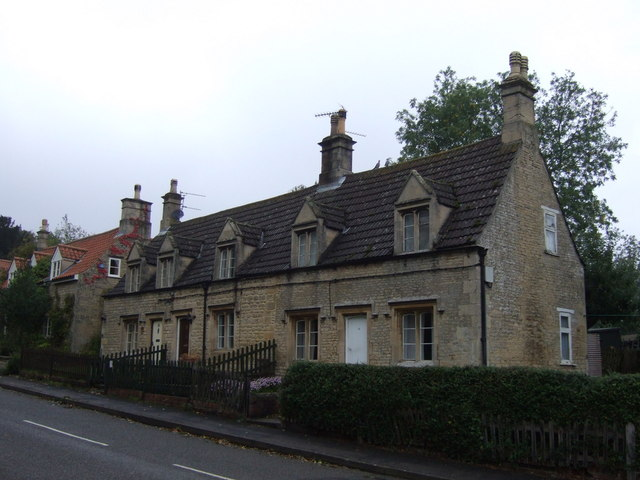 Cottages on Corby Road, Irnham