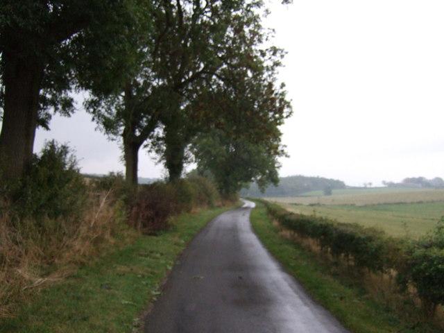 Lane towards Bulby