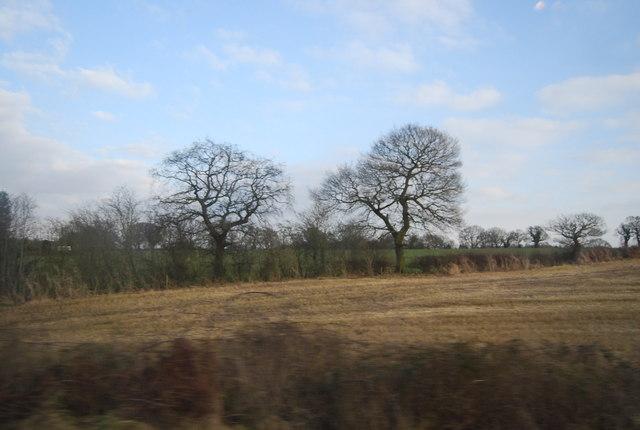 Farmland near Bate Mill