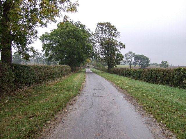 Lane towards Bulby