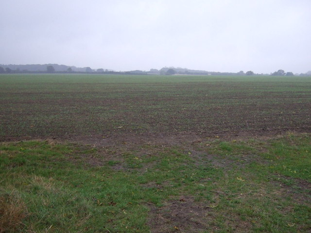 Farmland near Bulby