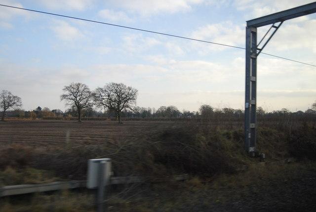 Farmland near Chelford