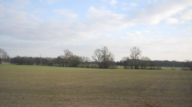 Farmland near Corbishley Bridge