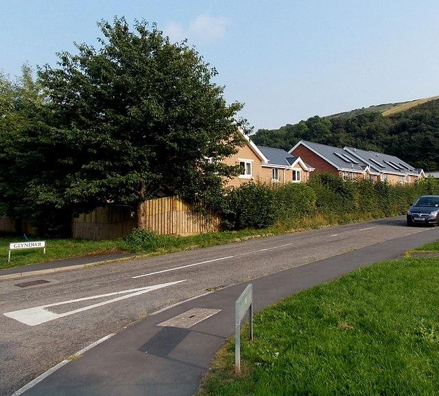 Glyndwr houses, Knucklas