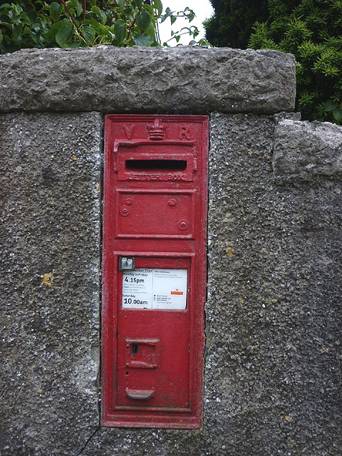 Victorian postbox, Cartmel