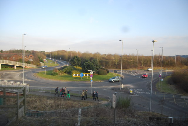 Roundabout, A34