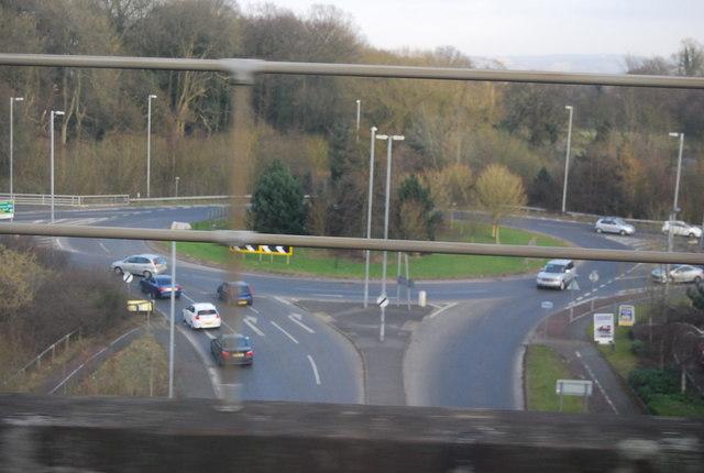 Roundabout, A34
