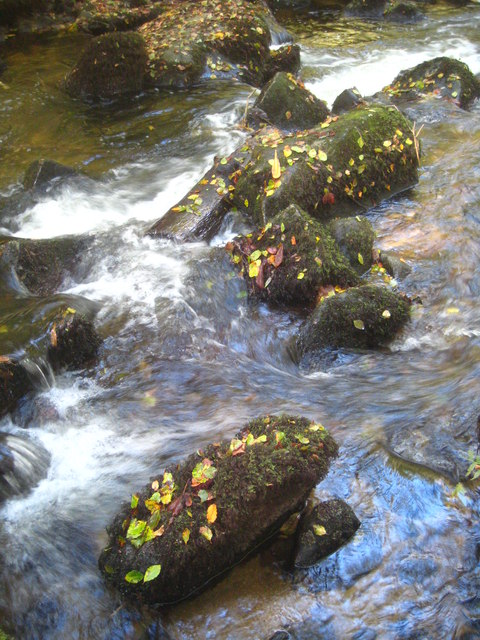 Boulders in the River Kennall