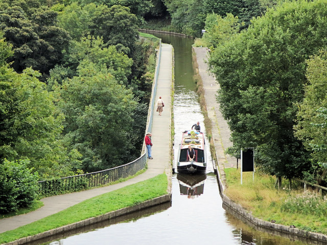 Chirk Aqueduct from Castle Road