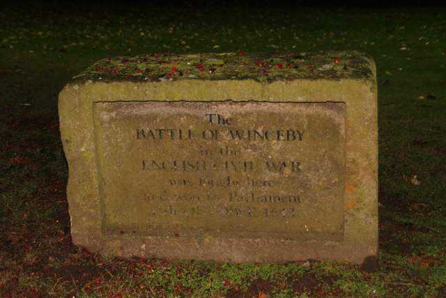 Battle of Winceby (English Civil War) 11th October 1643