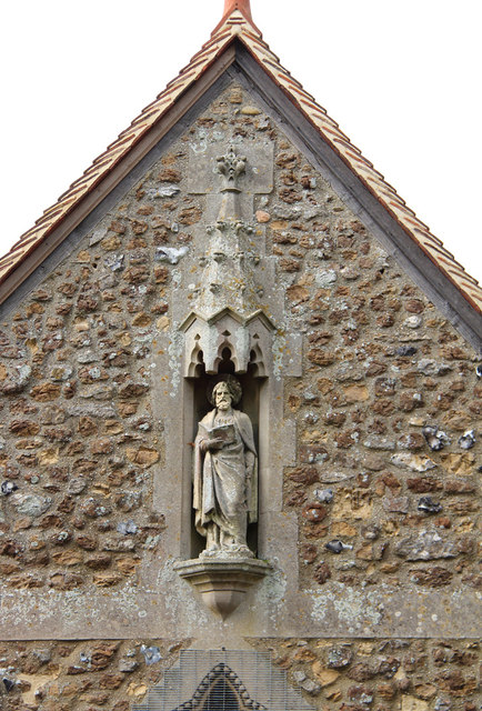 St Peter, Great Totham - Statue