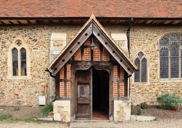 St Peter, Great Totham - Porch
