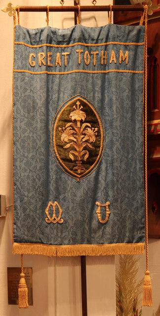 St Peter, Great Totham - Banner MU